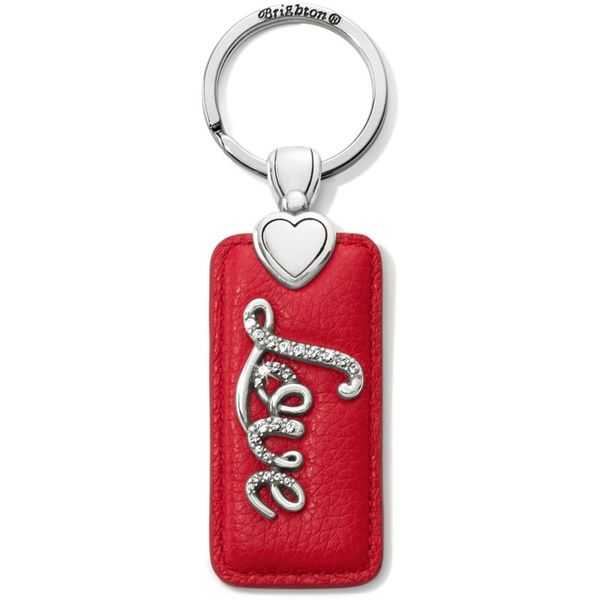 Brighton Love Script Key Fob Coughlin Jewelers St. Clair, MI