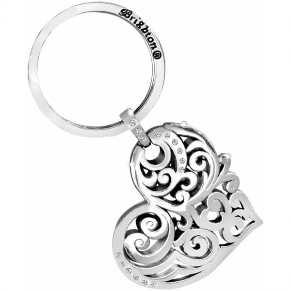 Brighton Madrid Heart Key Fob Coughlin Jewelers St. Clair, MI