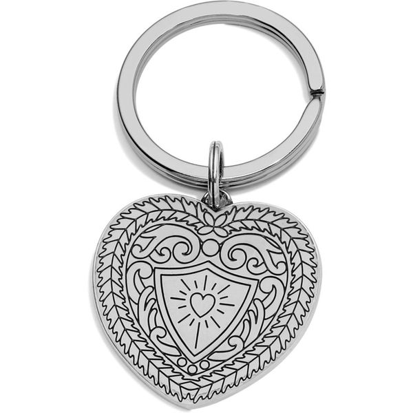 Brighton Medaille Heart Key Fob Image 2 Coughlin Jewelers St. Clair, MI