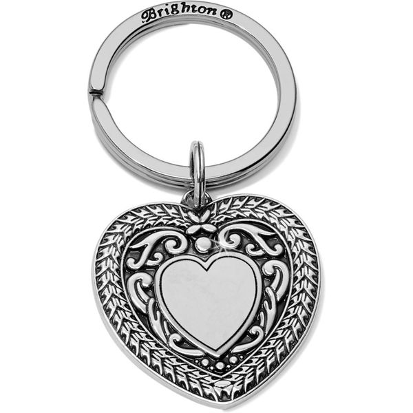Brighton Medaille Heart Key Fob Coughlin Jewelers St. Clair, MI