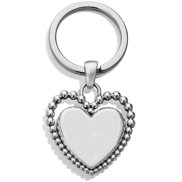 Brighton Beaded Love Key Fob Image 2 Coughlin Jewelers St. Clair, MI