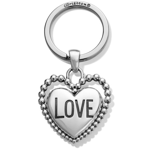 Brighton Beaded Love Key Fob Coughlin Jewelers St. Clair, MI