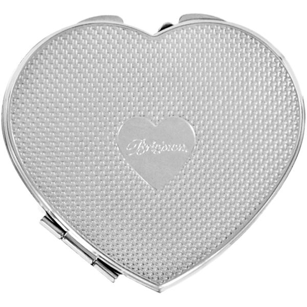 Brighton Cruz Heart Compact Mirror Image 3 Coughlin Jewelers St. Clair, MI