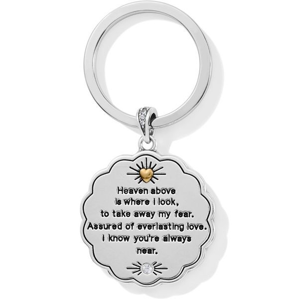 Brighton Celestial Angel Key Fob Image 2 Coughlin Jewelers St. Clair, MI