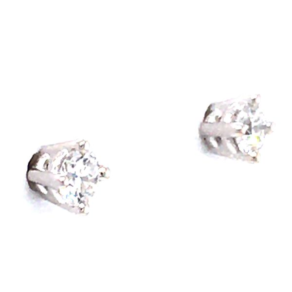 Diamond Earrings Image 2 Cozzi Jewelers Newtown Square, PA