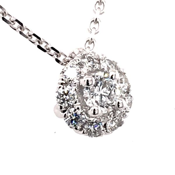 Diamond Pendant Image 2 Cozzi Jewelers Newtown Square, PA