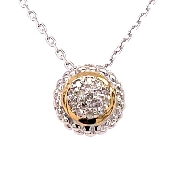 Diamond Pendant Cozzi Jewelers Newtown Square, PA