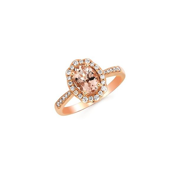Morganite and Diamond Ring Cravens & Lewis Jewelers Georgetown, KY