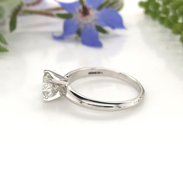 1 CT Lab Grown Diamond Solitaire Engagement Ring Image 2 David Douglas Diamonds & Jewelry Marietta, GA