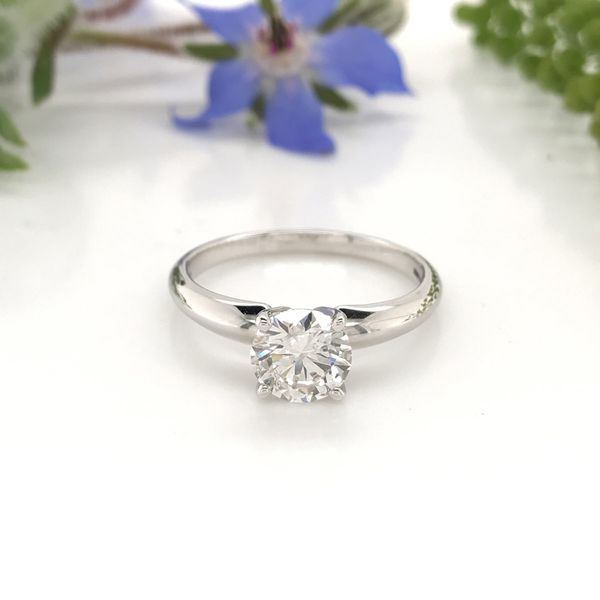 1 CT Lab Grown Diamond Solitaire Engagement Ring David Douglas Diamonds & Jewelry Marietta, GA