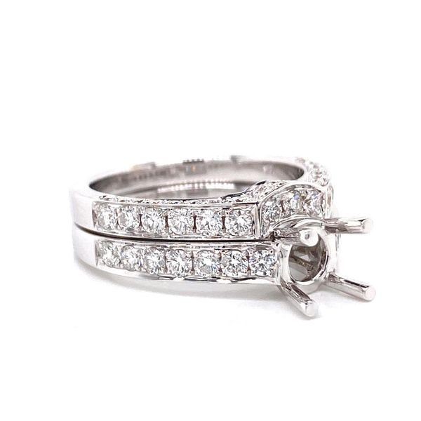 18k Diamond Wedding Set Image 2 David Douglas Diamonds & Jewelry Marietta, GA