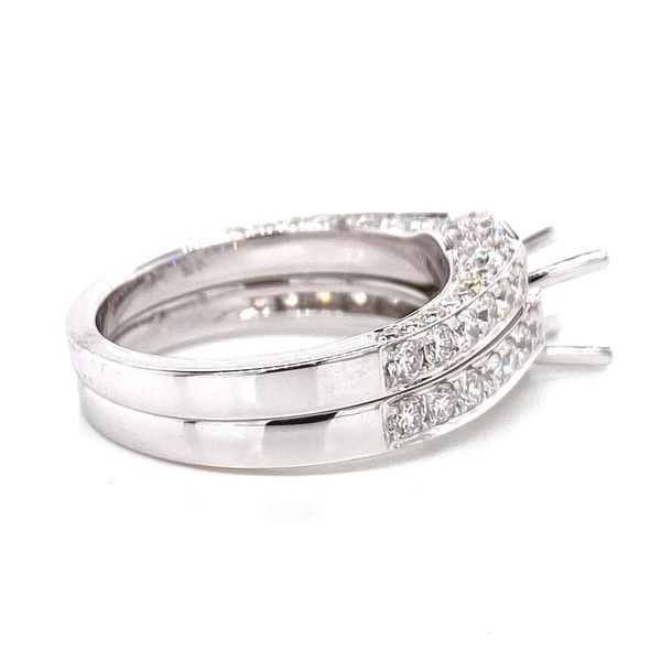 18k Diamond Wedding Set Image 3 David Douglas Diamonds & Jewelry Marietta, GA