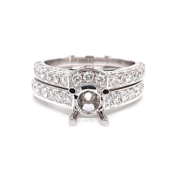 18k Diamond Wedding Set David Douglas Diamonds & Jewelry Marietta, GA
