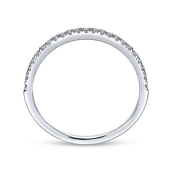 14k Micro Pave Diamond Band Image 2 David Douglas Diamonds & Jewelry Marietta, GA