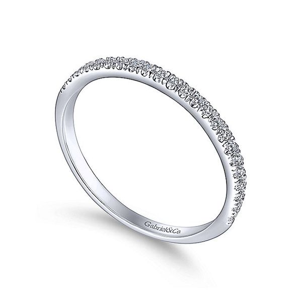 14k Micro Pave Diamond Band Image 3 David Douglas Diamonds & Jewelry Marietta, GA