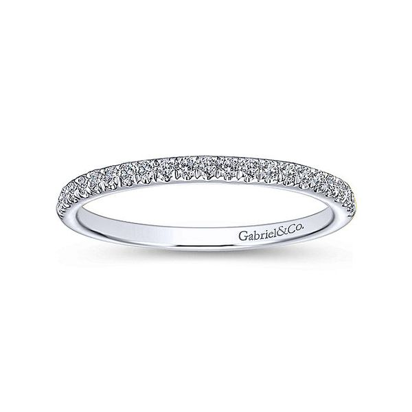14k Micro Pave Diamond Band Image 4 David Douglas Diamonds & Jewelry Marietta, GA