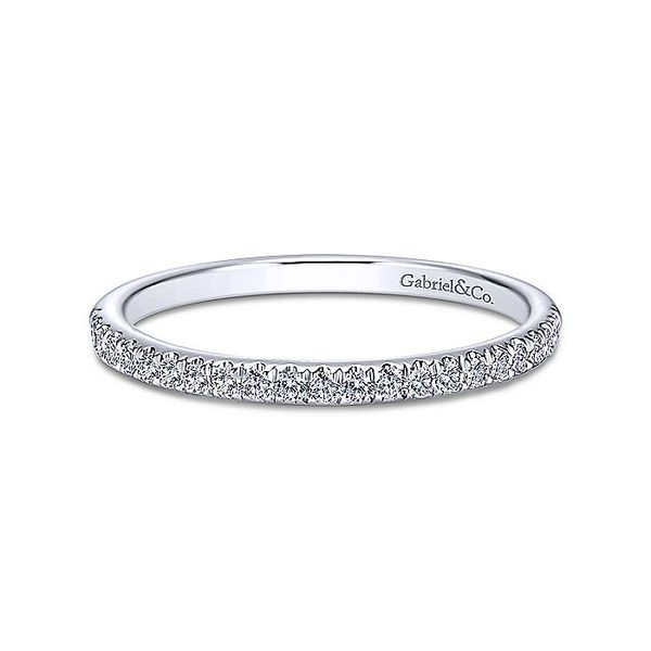 14k Micro Pave Diamond Band David Douglas Diamonds & Jewelry Marietta, GA