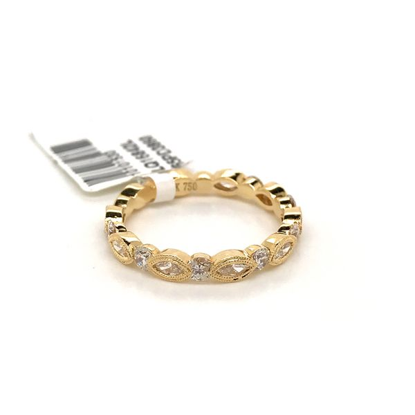 18k Yellow Gold Stackable Ring Image 2 David Douglas Diamonds & Jewelry Marietta, GA