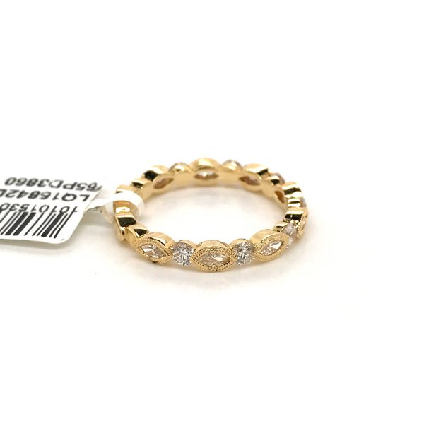 18k Yellow Gold Stackable Ring Image 3 David Douglas Diamonds & Jewelry Marietta, GA
