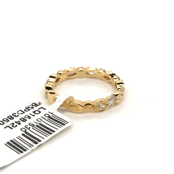 18k Yellow Gold Stackable Ring Image 4 David Douglas Diamonds & Jewelry Marietta, GA