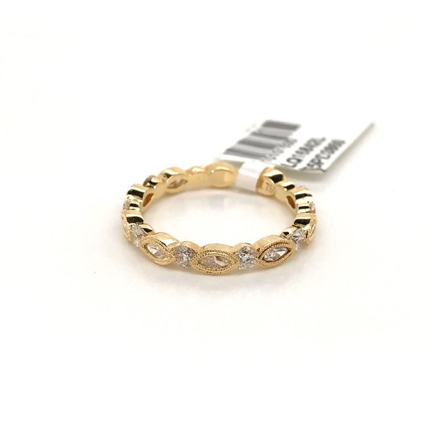 18k Yellow Gold Stackable Ring David Douglas Diamonds & Jewelry Marietta, GA