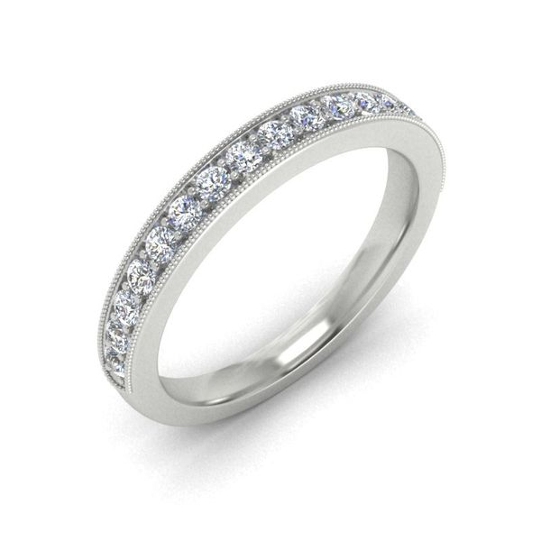 14k Milgrain 1/3CTW Diamond Band Image 3 David Douglas Diamonds & Jewelry Marietta, GA