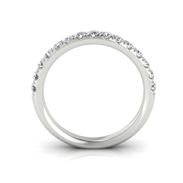 14k 1/2 CTW Micro Pave Diamond Band Image 2 David Douglas Diamonds & Jewelry Marietta, GA