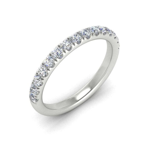 14k 1/2 CTW Micro Pave Diamond Band Image 3 David Douglas Diamonds & Jewelry Marietta, GA