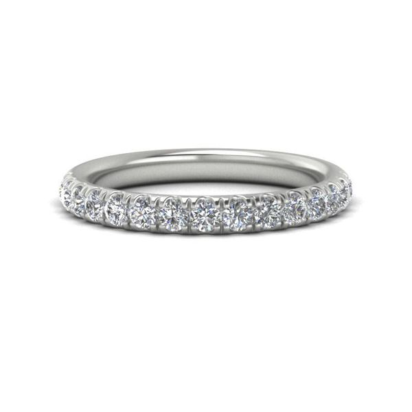 14k 1/2 CTW Micro Pave Diamond Band David Douglas Diamonds & Jewelry Marietta, GA