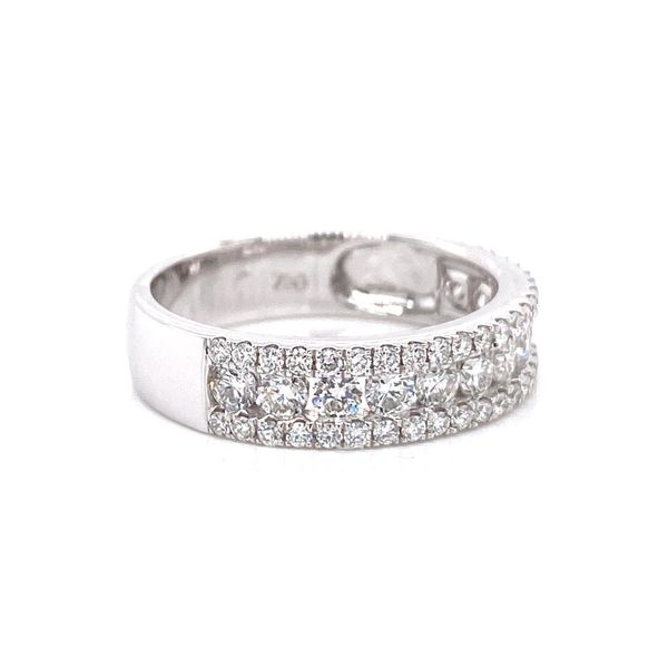 18k Multi Row Diamond Ring Image 2 David Douglas Diamonds & Jewelry Marietta, GA