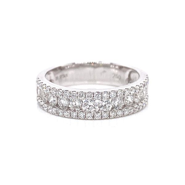 18k Multi Row Diamond Ring David Douglas Diamonds & Jewelry Marietta, GA