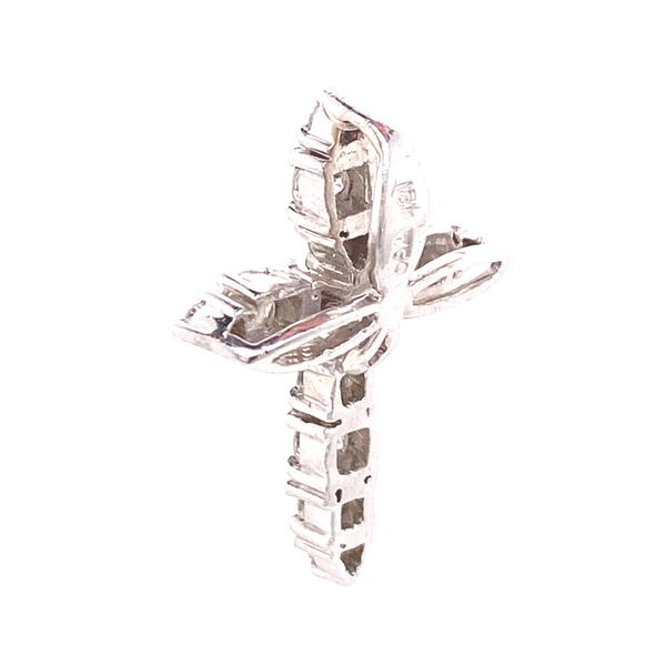 18k Diamond Cross Pendant Image 2 David Douglas Diamonds & Jewelry Marietta, GA