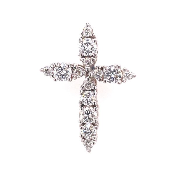 18k Diamond Cross Pendant David Douglas Diamonds & Jewelry Marietta, GA