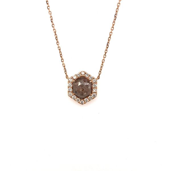 18k Rose Gold Diamond Fashion Necklace David Douglas Diamonds & Jewelry Marietta, GA