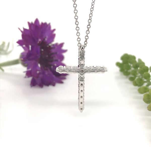 1/2 CTW Lab Grown Diamond Cross Necklace Image 4 David Douglas Diamonds & Jewelry Marietta, GA