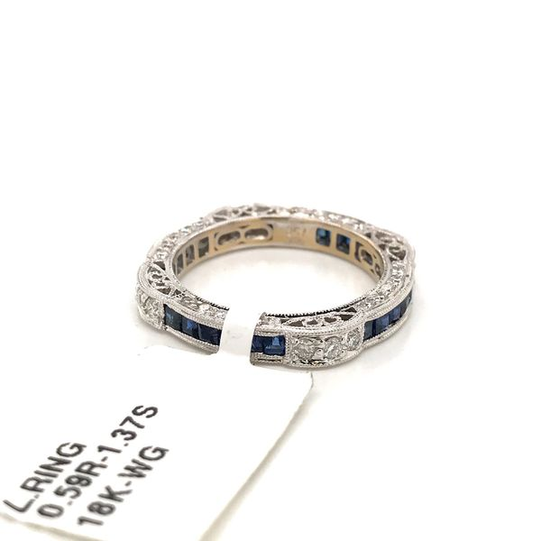 18k White Gold Eternity Style Ring Image 4 David Douglas Diamonds & Jewelry Marietta, GA