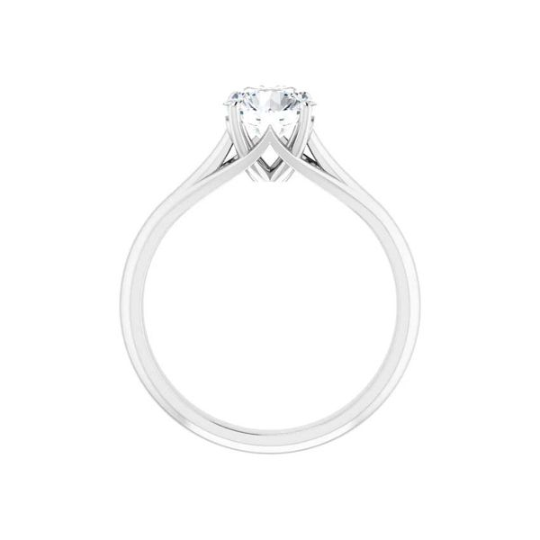14k Moissanite Engagement Ring Image 2 David Douglas Diamonds & Jewelry Marietta, GA