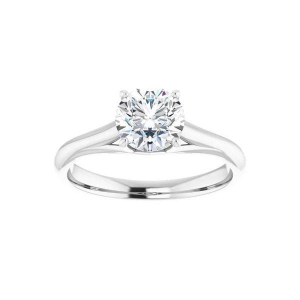 14k Moissanite Engagement Ring Image 3 David Douglas Diamonds & Jewelry Marietta, GA