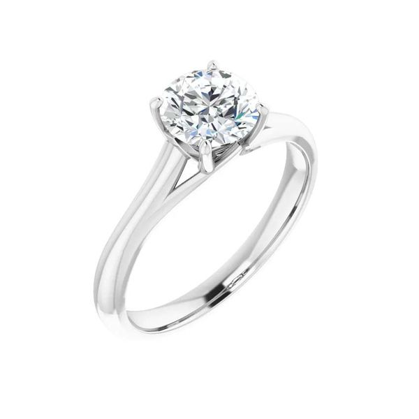 14k Moissanite Engagement Ring David Douglas Diamonds & Jewelry Marietta, GA