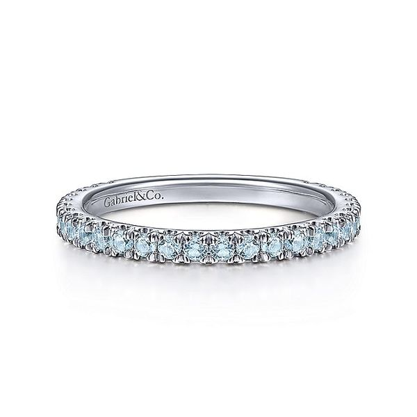 14k Birthstone Stackable Ring | December David Douglas Diamonds & Jewelry Marietta, GA