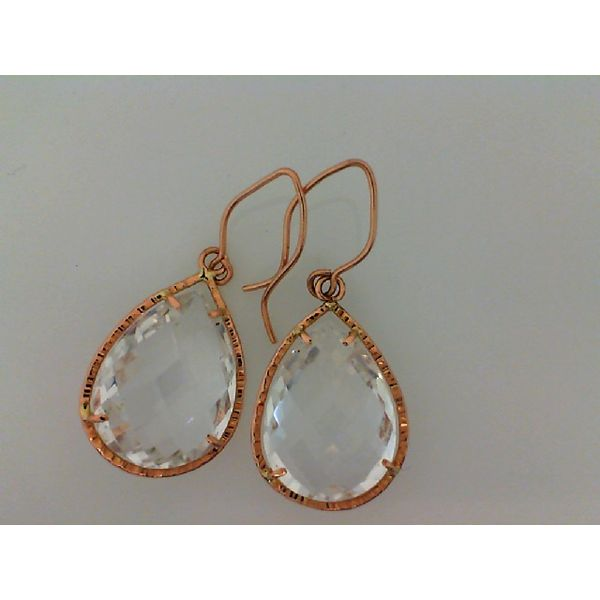 14k Oval Drop Earrings David Douglas Diamonds & Jewelry Marietta, GA