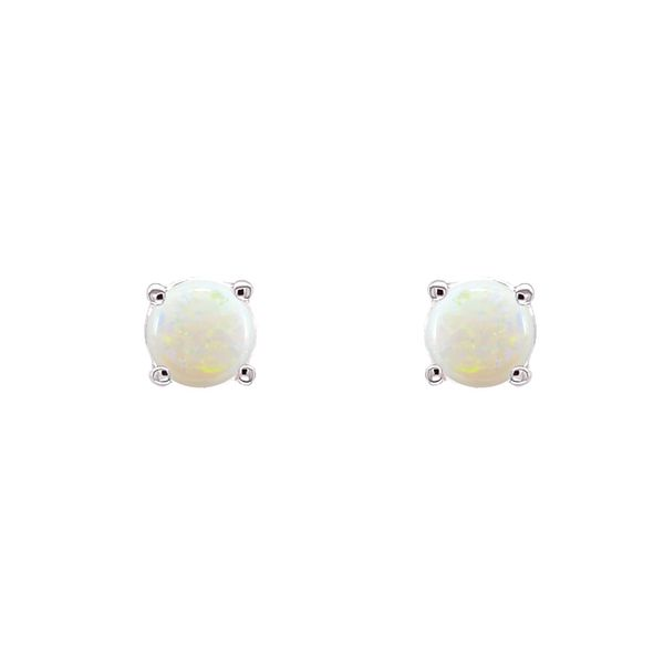 14k Opal Stud Earrings Image 2 David Douglas Diamonds & Jewelry Marietta, GA