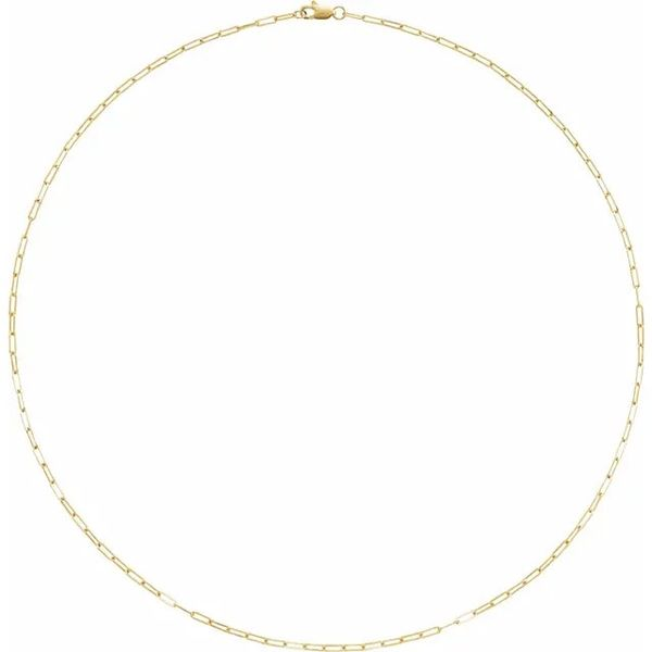 14k Elongated Link Necklace David Douglas Diamonds & Jewelry Marietta, GA