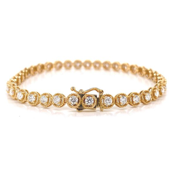 18k Diamond Tennis Bracelet Image 2 David Douglas Diamonds & Jewelry Marietta, GA
