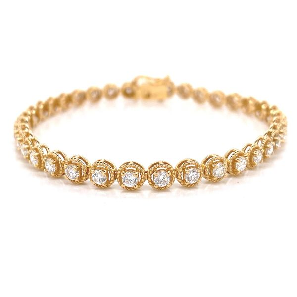 18k Diamond Tennis Bracelet David Douglas Diamonds & Jewelry Marietta, GA