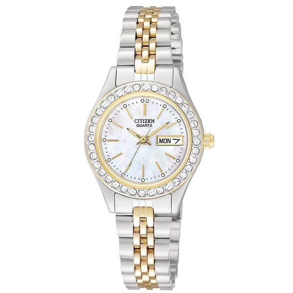 Two-Tone Stainless Steel Bracelet Watch David Douglas Diamonds & Jewelry Marietta, GA