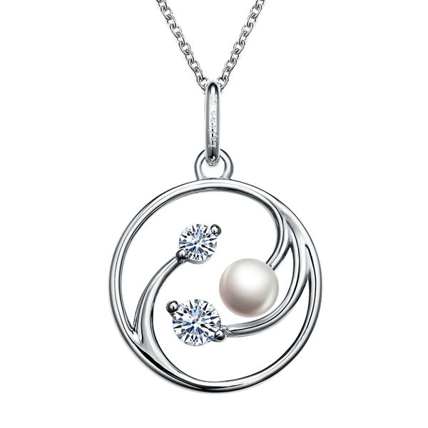 Silver Swirl Pearl Necklace David Douglas Diamonds & Jewelry Marietta, GA
