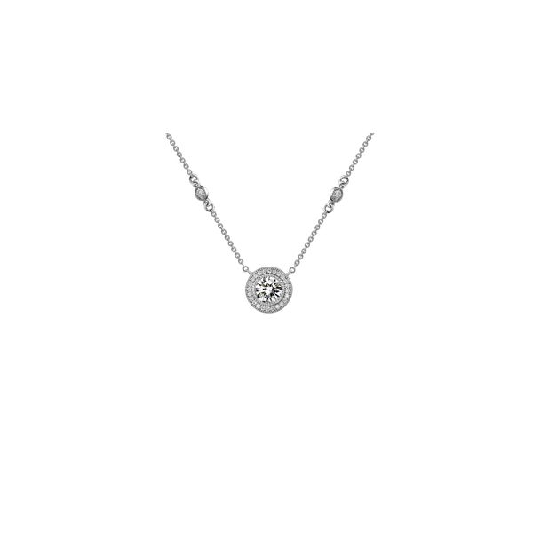 Silver Halo Necklace David Douglas Diamonds & Jewelry Marietta, GA