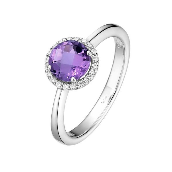 Silver Birthstone Ring | February David Douglas Diamonds & Jewelry Marietta, GA