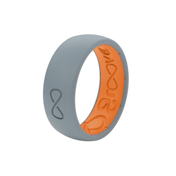 Original Solid Storm Grey/Orange | Size 8 Image 3 David Douglas Diamonds & Jewelry Marietta, GA